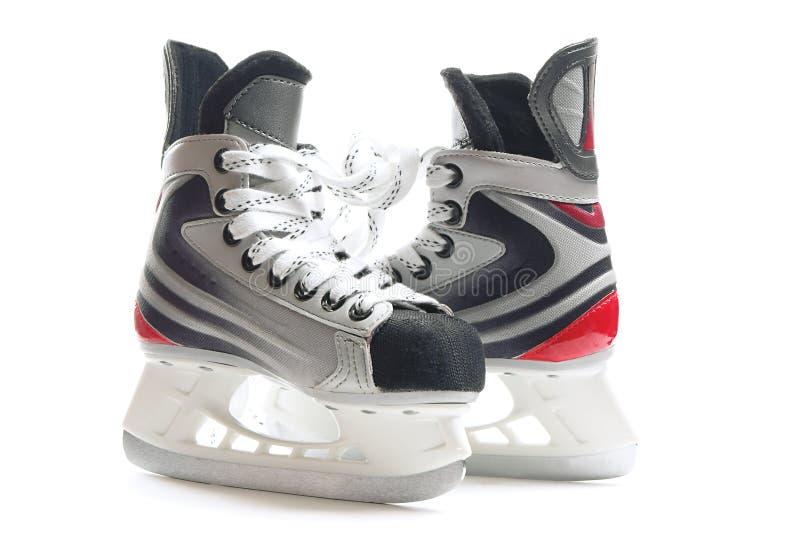 hokejowe łyżwy obraz stock