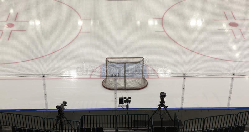 Hokejowi cele obraz stock