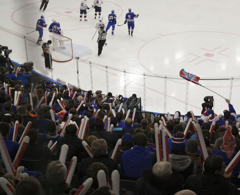 Hokejowi cele obrazy royalty free