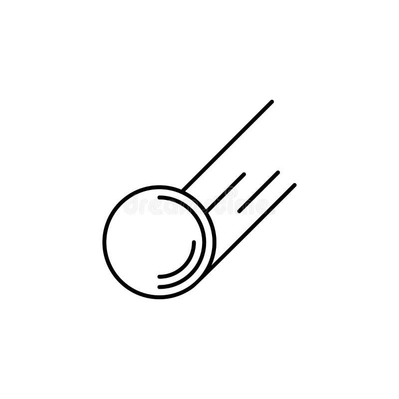 Hokejowy krążek hokojowy, zima, sporta konturu ikona Element zima sporta ilustracja Znaki i symbol ikona mogą używać dla sieci, l ilustracji