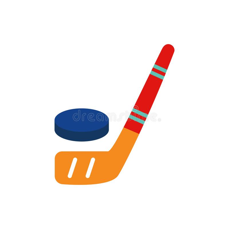 Hokejowy logo ikony projekt royalty ilustracja