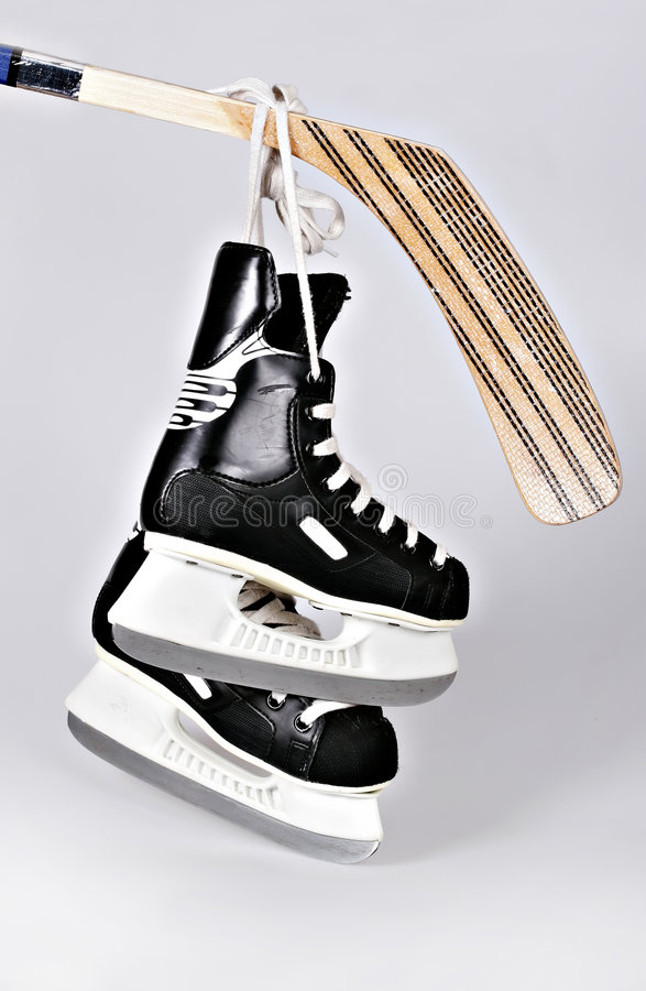 Download Hokey skates and stick stock photo. Image of skates, hockey - 2316642