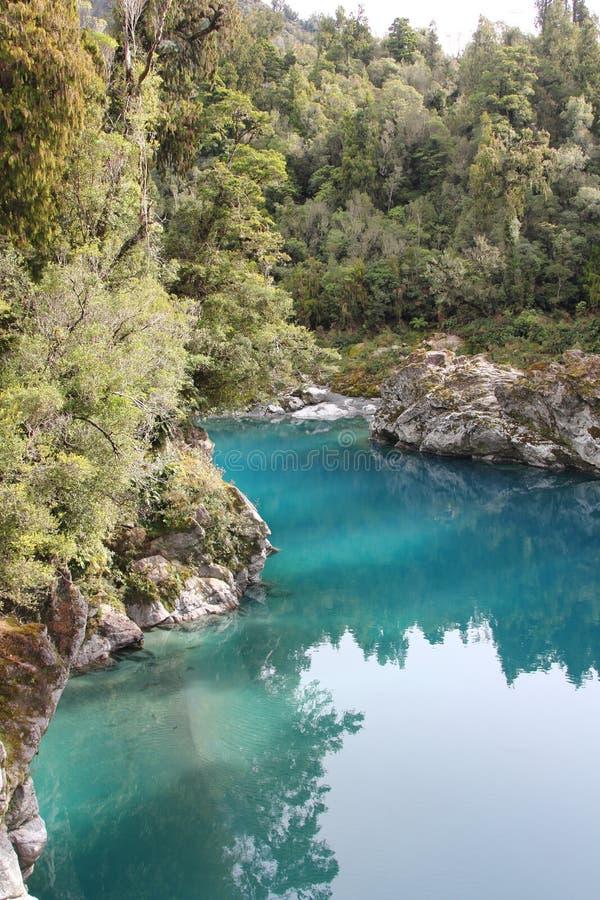 Download Hokitika Gorge stock photo. Image of westcoast, blue - 26306050