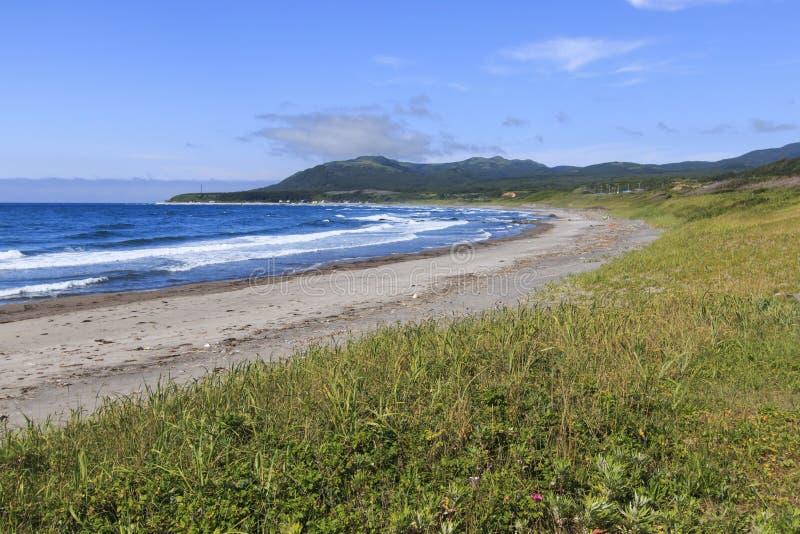 Download Hokkaida Wybrzeże W Północnym Japonia Obraz Stock - Obraz złożonej z county, półmrok: 57652393