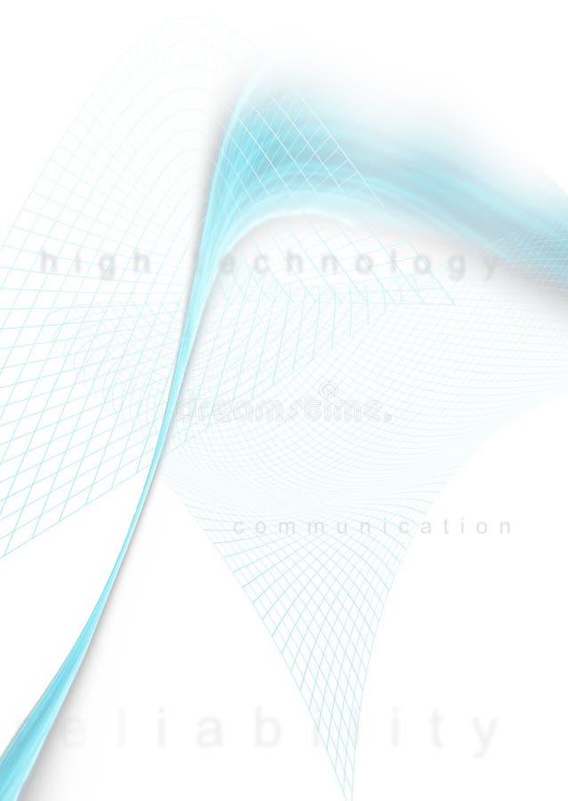 Hola fondo 6 del teck ilustración del vector