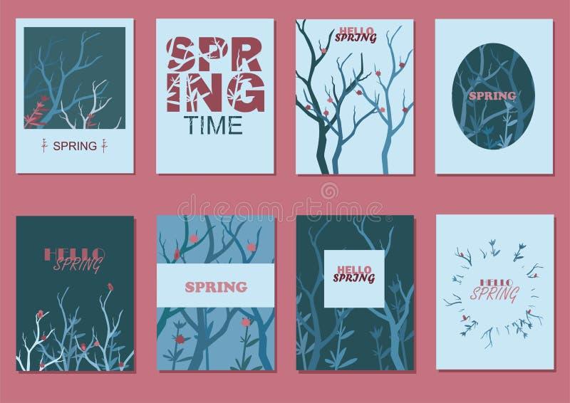 Hola primavera imagen de archivo