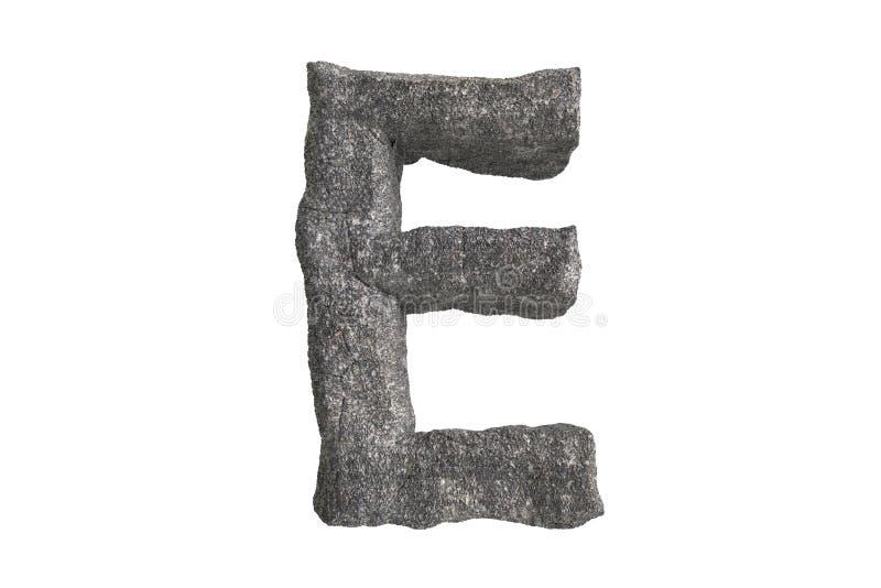 Hola serie de A-Z Stone Texture Text de la resolución para la clase hasta de usted ilustración del vector