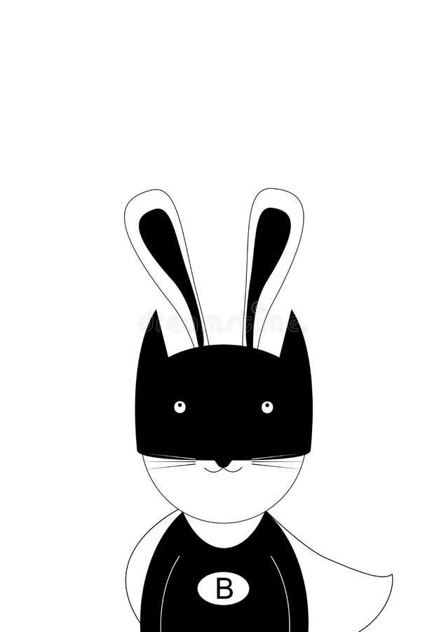 Hola, soy Batman stock de ilustración