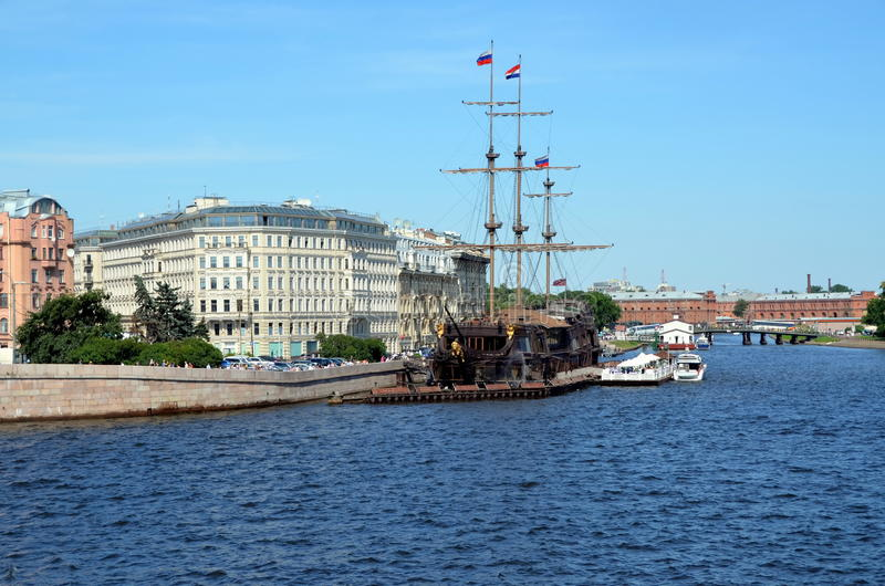 Download Holandés Errante De La Fragata, St Petersburg Foto editorial - Imagen de rusia, santo: 42444536