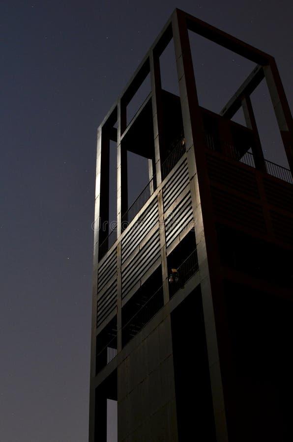 Holandia karylion przy nocą obrazy royalty free