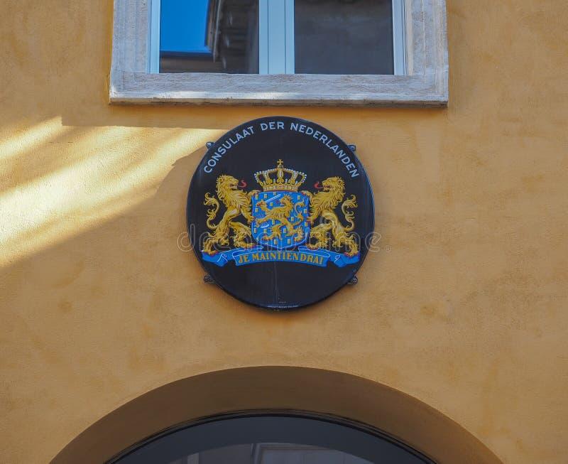 Holandia konsulat w Verona zdjęcia royalty free