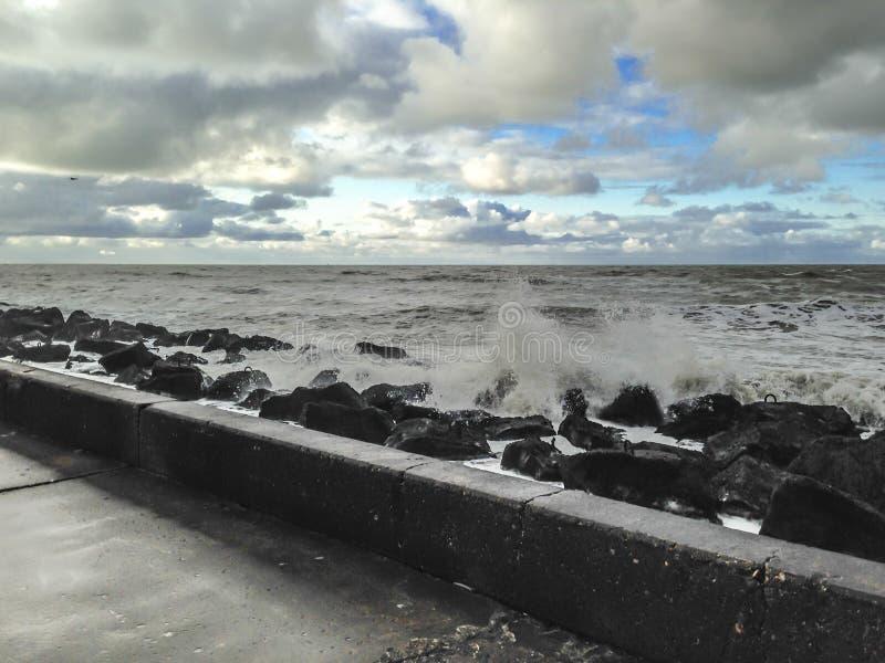 Holandia morze - haczyk Holandia fotografia stock