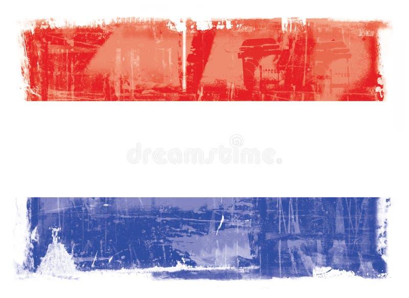 Holandie flaga ilustracja wektor