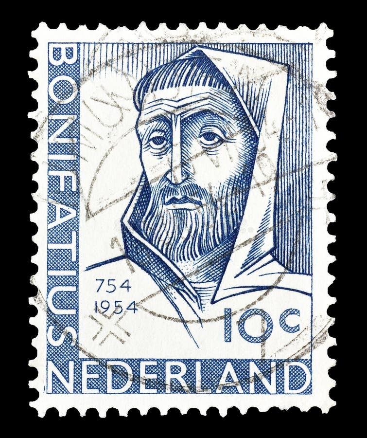 Holandie na znaczku pocztowym obraz stock