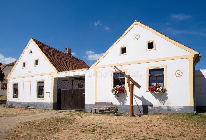 Holasovice, Czech republic royalty free stock photo
