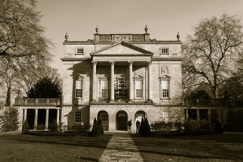 The Holburne Museum. ENGLAND, BATH - 23 NOV 2015: The Holburne Museum royalty free stock images