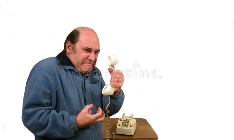 On Hold royalty free stock image