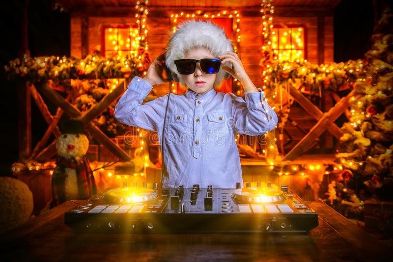 Hold christmas party royalty free stock images