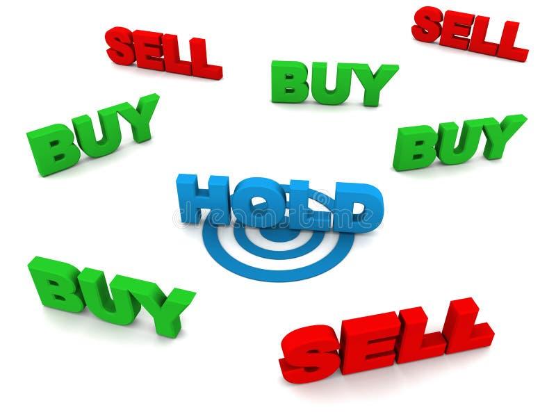 Download Hold stocks stock illustration. Illustration of wise - 34625370