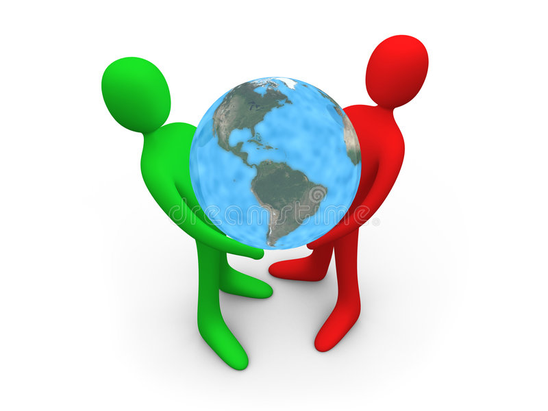 Download Hold The World Royalty Free Stock Photography - Image: 1427697