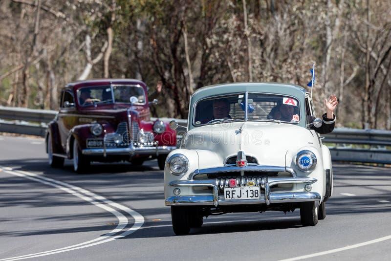 1955 Holden FJ sedan obraz royalty free