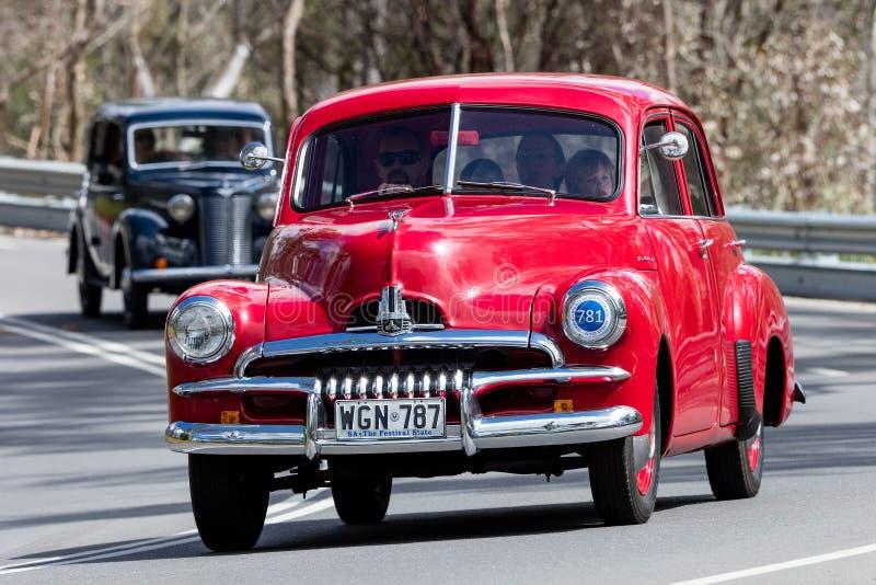 Holden FJ sedan 1954 royaltyfri fotografi