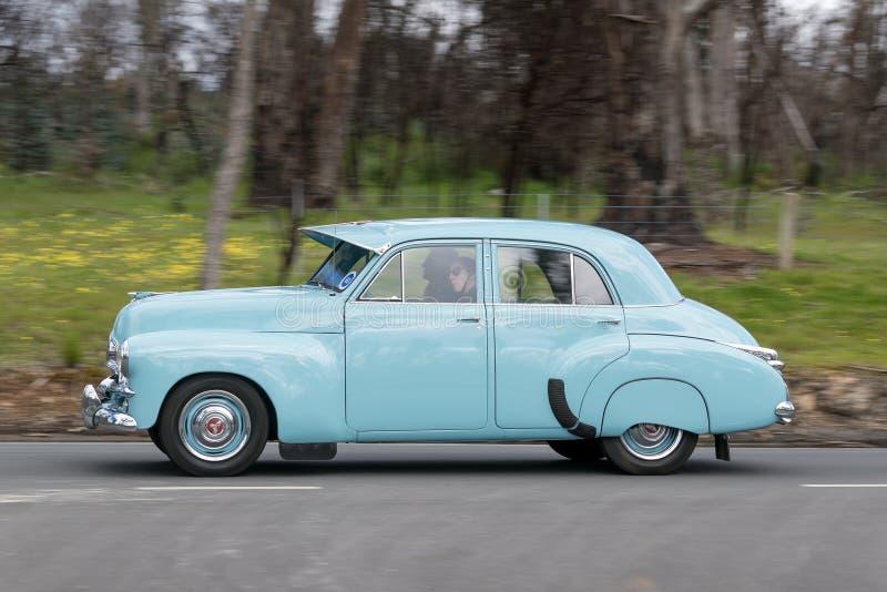 Holden FJ Sedan 1955 royaltyfria bilder