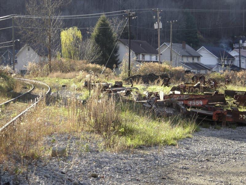 Holden, W Va campo del carbón imágenes de archivo libres de regalías