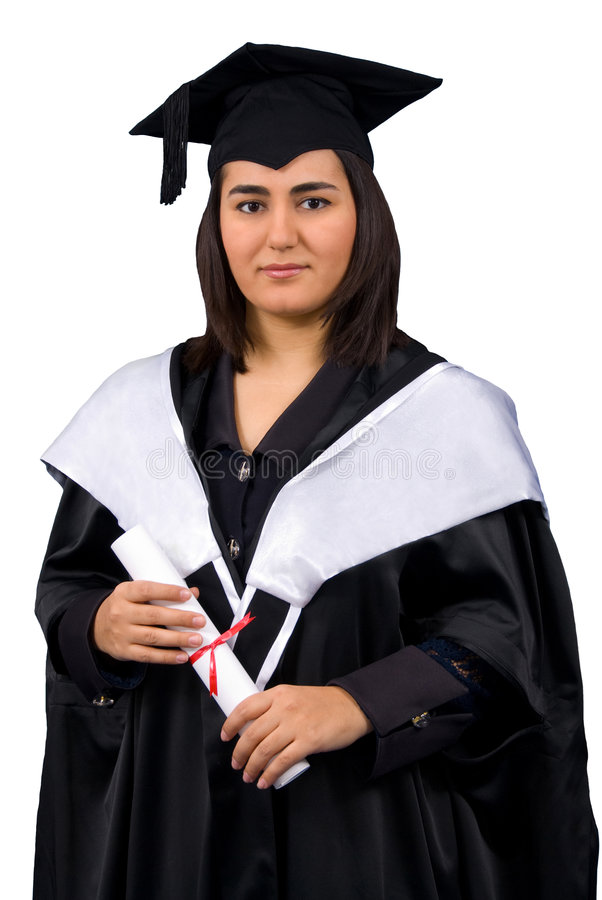Download Holder Of A Master's Degree Stock Image - Image of bachelor, graduation: 4714519