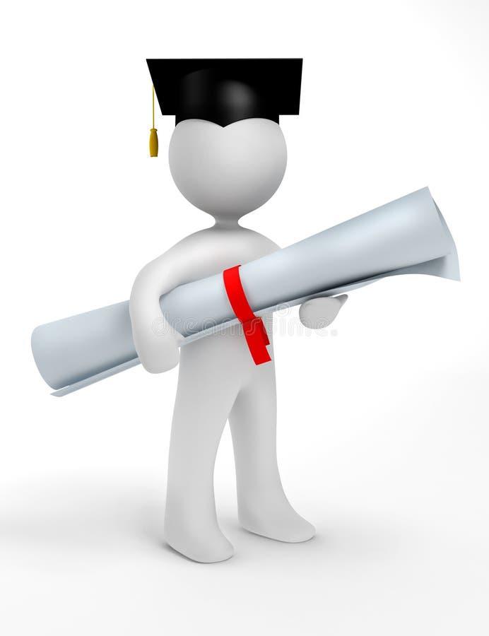 Download Holder Of A Master's Degree Stock Illustration - Illustration: 9034330