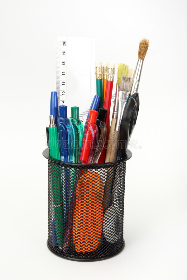 Free Holder With Tools Royalty Free Stock Images - 17251139
