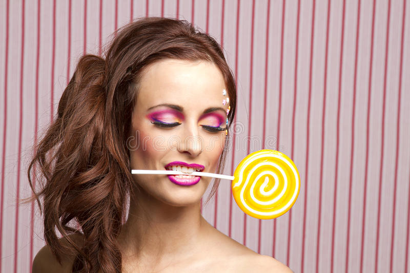 Download Holding it stock photo. Image of enjoy, lips, attractive - 25089980