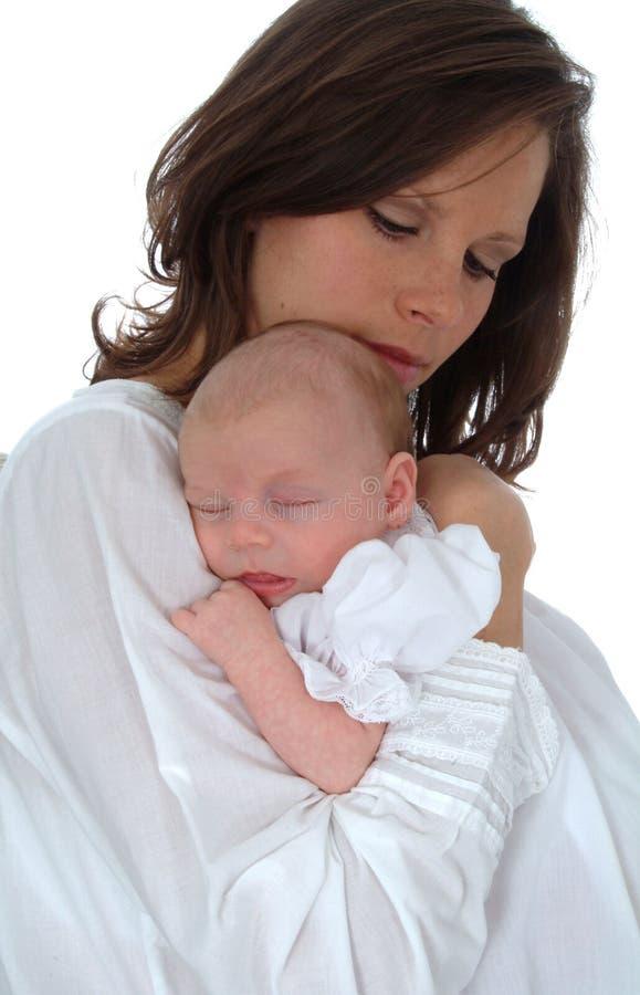 Holding Baby royalty free stock image