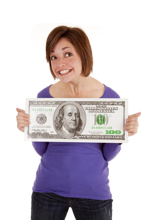 Download Holding bid dollar stock image. Image of bills, banking - 20984253
