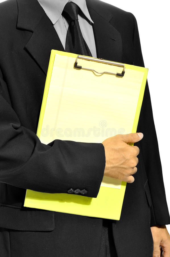 Download Holding Clipboard stock image. Image of list, hand, note - 26593841