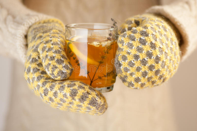 Download Holding A Cup Of Tea Royalty Free Stock Image - Image: 28833566