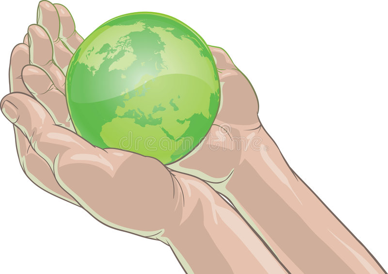 Download Holding Earth Royalty Free Stock Photo - Image: 7394015