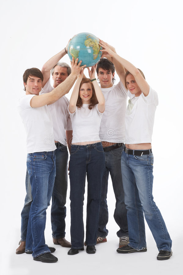 Download Holding The Earth In Our Hands Stock Photo - Image: 2482582