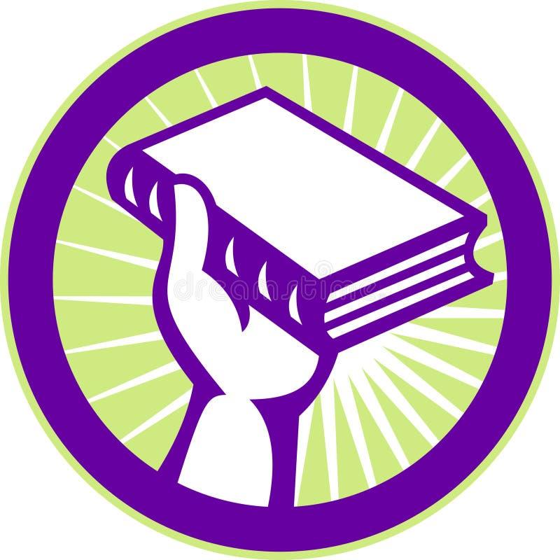 holding för bokhand royaltyfri illustrationer
