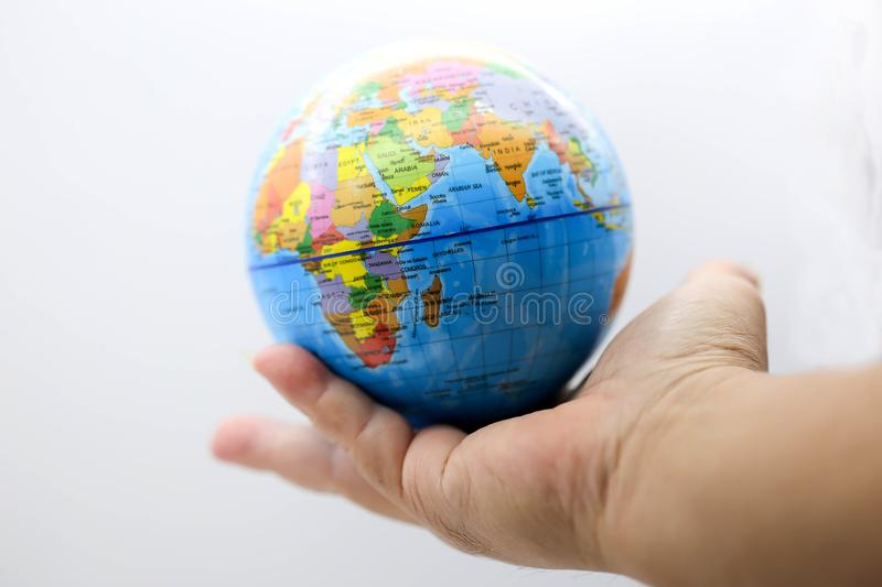 Holding globe world map on hands stock photo image of internet download holding globe world map on hands stock photo image of internet hope gumiabroncs Image collections