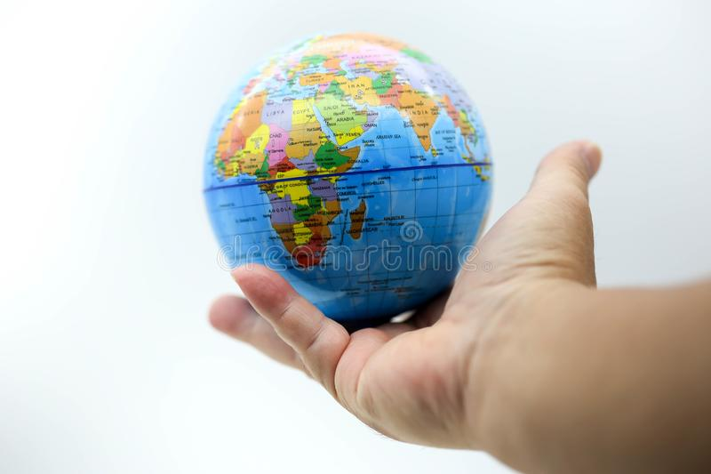 Holding globe world map on hands stock image image of environment download holding globe world map on hands stock image image of environment hope gumiabroncs Image collections