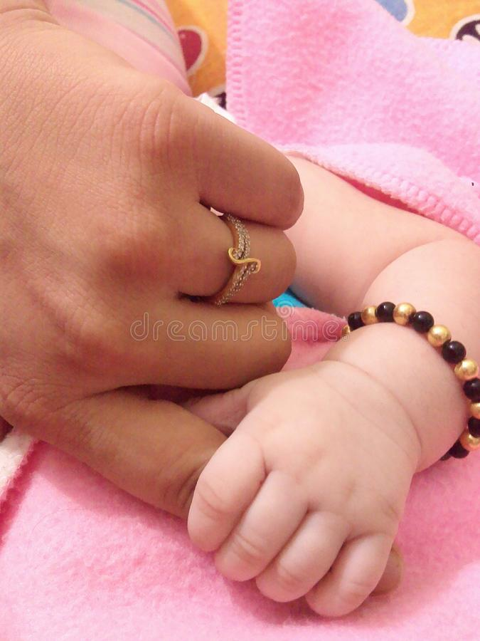 Holding Hand stock photos