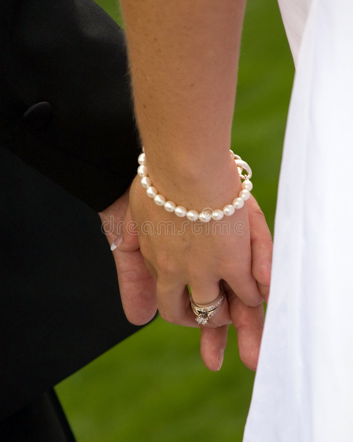 Holding hands 2 royalty free stock photography