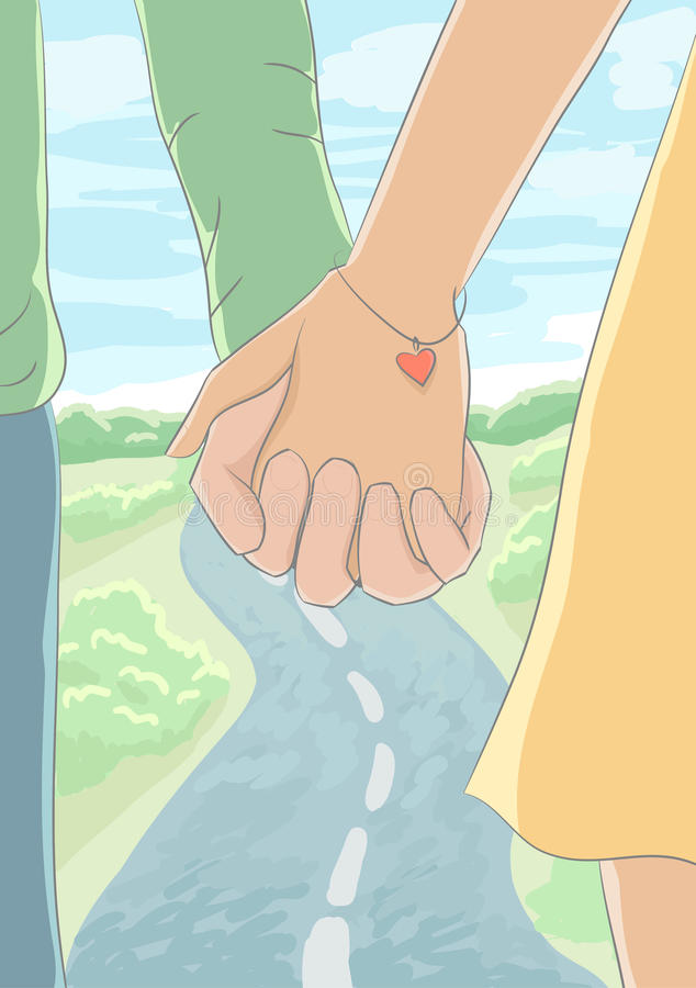 Download Holding Hands Stock Photography - Image: 28366162