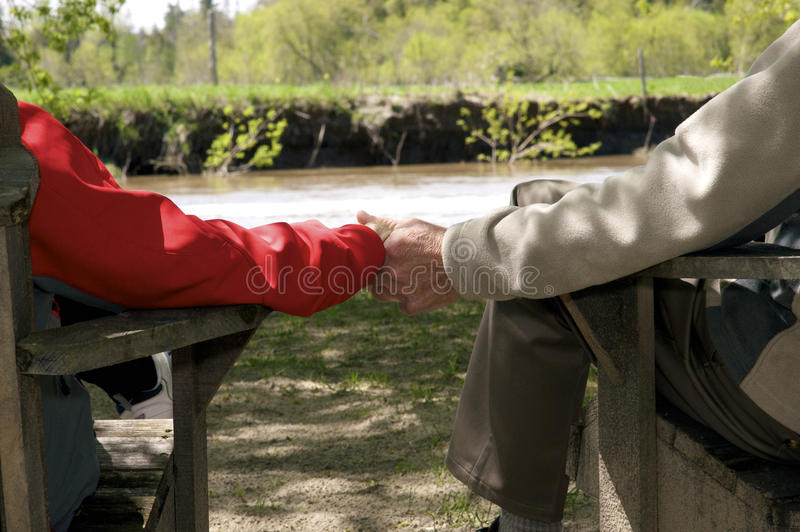 Download Holding hands stock photo. Image of woman, love, sitting - 9394604