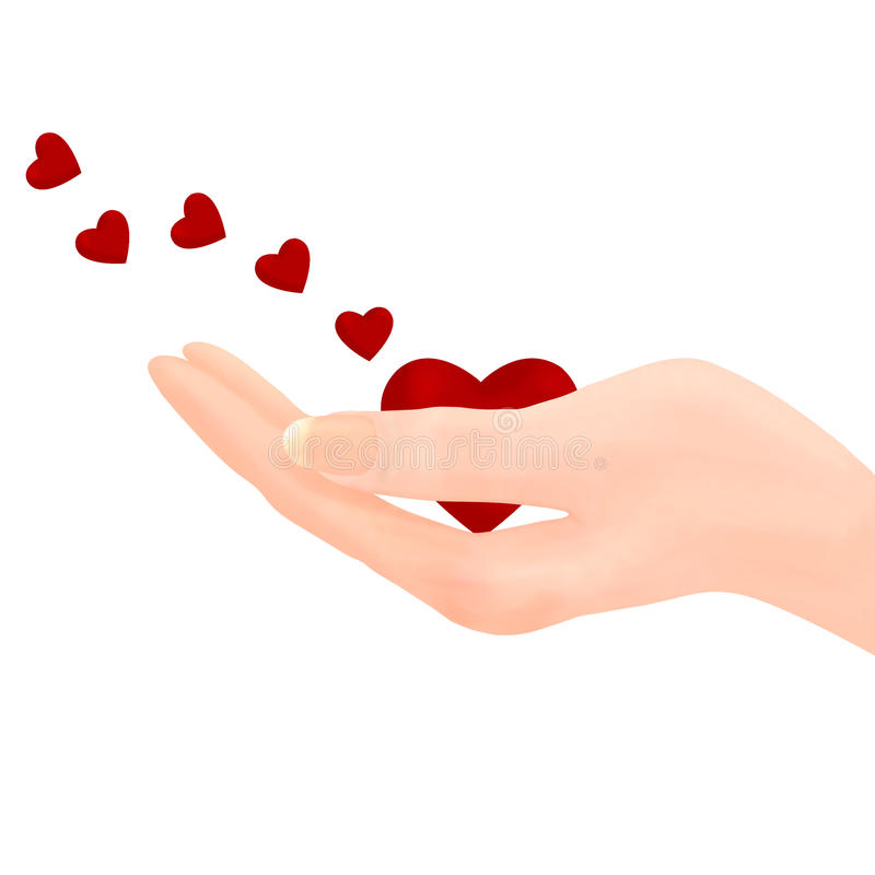 Holding heart - Sending Love