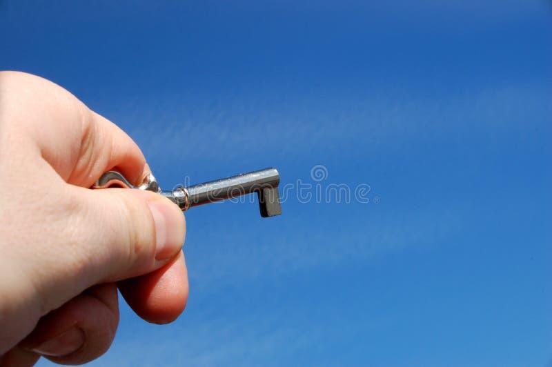 Holding key stock photos