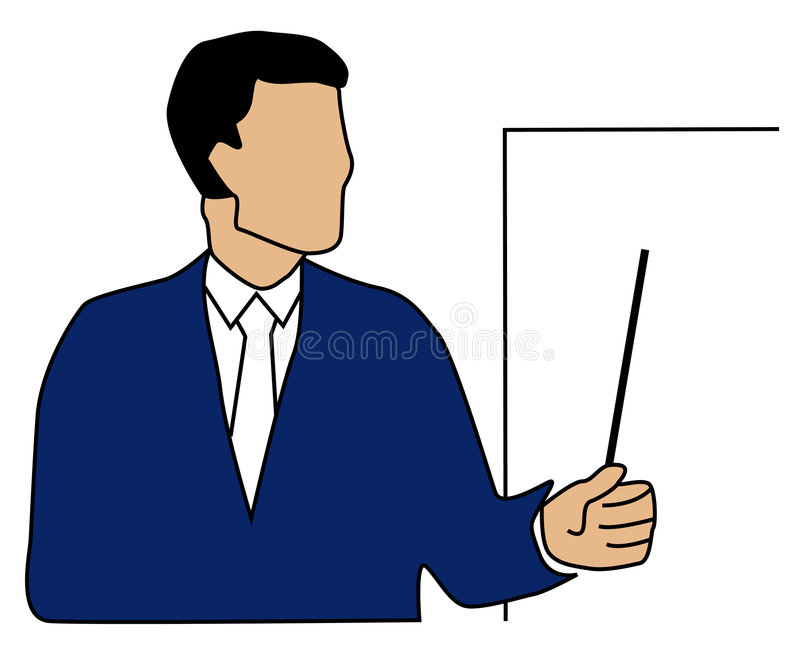Download Holding a meeting stock illustration. Image of illustration - 925965