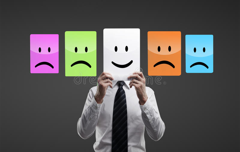 Download Holding Smilies Royalty Free Stock Photography - Image: 26115007