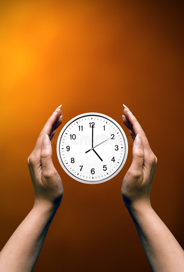 Download Holding time stock photo. Image of save, clock, woman - 4833102